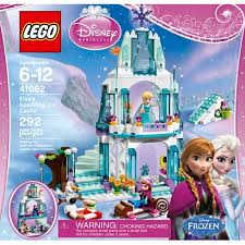 Frozen Bathroom Set At Walmart by Lego Disney Princess Elsa U0027s Sparkling Ice Castle Walmart Com