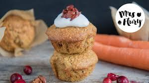 gesunde karotten muffins ohne mehl ohne zucker mrs flury