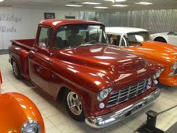 100 Chevy Pickup Trucks For Sale Custom 1956 Truck Restomod Frame Off Overdive Leather AC