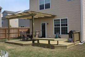 Patio And Deck Combo Ideas by Wood Decks Wood Decks Wood Decking Designs For The Home