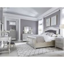 bedroom sets coralayne silver bedroom set from b650 157 54 96