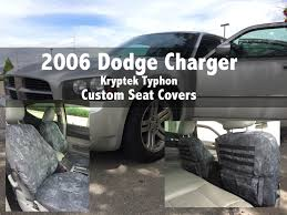 2006 Dodge Charger Kryptek Typhon Custom Seat Covers - YouTube