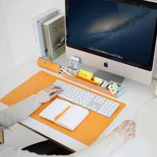 Leather Desk Blotters Uk by Amazon Com Satechi Desk Mat U0026 Mate 24