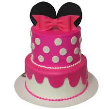 1356 2 Tier Minnie Mouse Cake ABC Cake Shop & Bakery