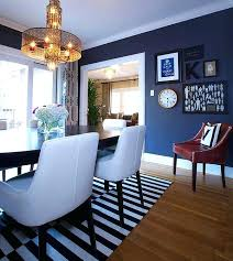 Navy Blue Dining Room Walls Decor A Ideas And