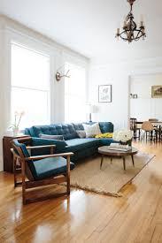 Teal Sofa Living Room Ideas by Great Chic Navy Blue Livingroom Interior Inmyinterior With Regard