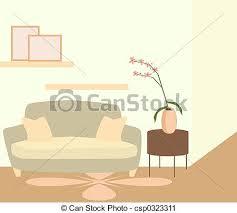 wohnzimmer dekor clipart und stock illustrationen 60 847