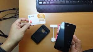 Converted iPhone 4 can use AT&T GoPhone Prepaid Phone Plans for