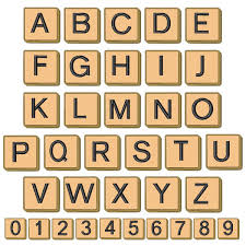 scrabble tiles no numbers by concord collections home format fonts