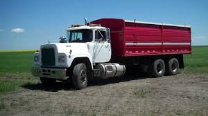 Marin April 13, 2013 1984 Mack Tandem Grain Truck Mack Auction ...
