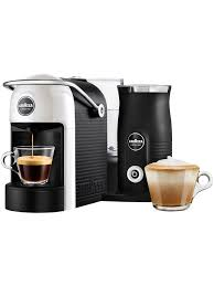 BuyLavazza A Modo Mio Jolie Plus Coffee Machine With Milk Frother White Online At Johnlewis