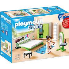playmobil 9271 schlafzimmer playmobil city