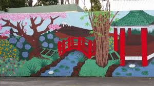 Big Ang Mural Unveiling by Big Japanese Mural Unveiled In Kirup Donnybrook Bridgetown Mail