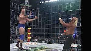Halloween Havoc 1999 Hogan Sting by Wwe Network Playlists