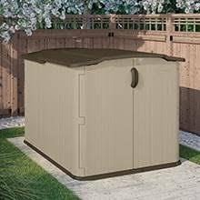 amazon com suncast bms4900d glidetop slide lid shed storage