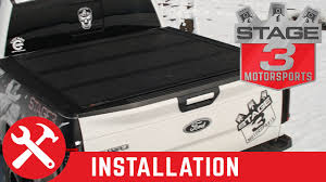 2015-2017 F150 Bed BAKFlip MX4 Hard Folding Tonneau Cover Install ...