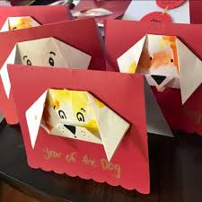 Make A Year Of The Dog Origami