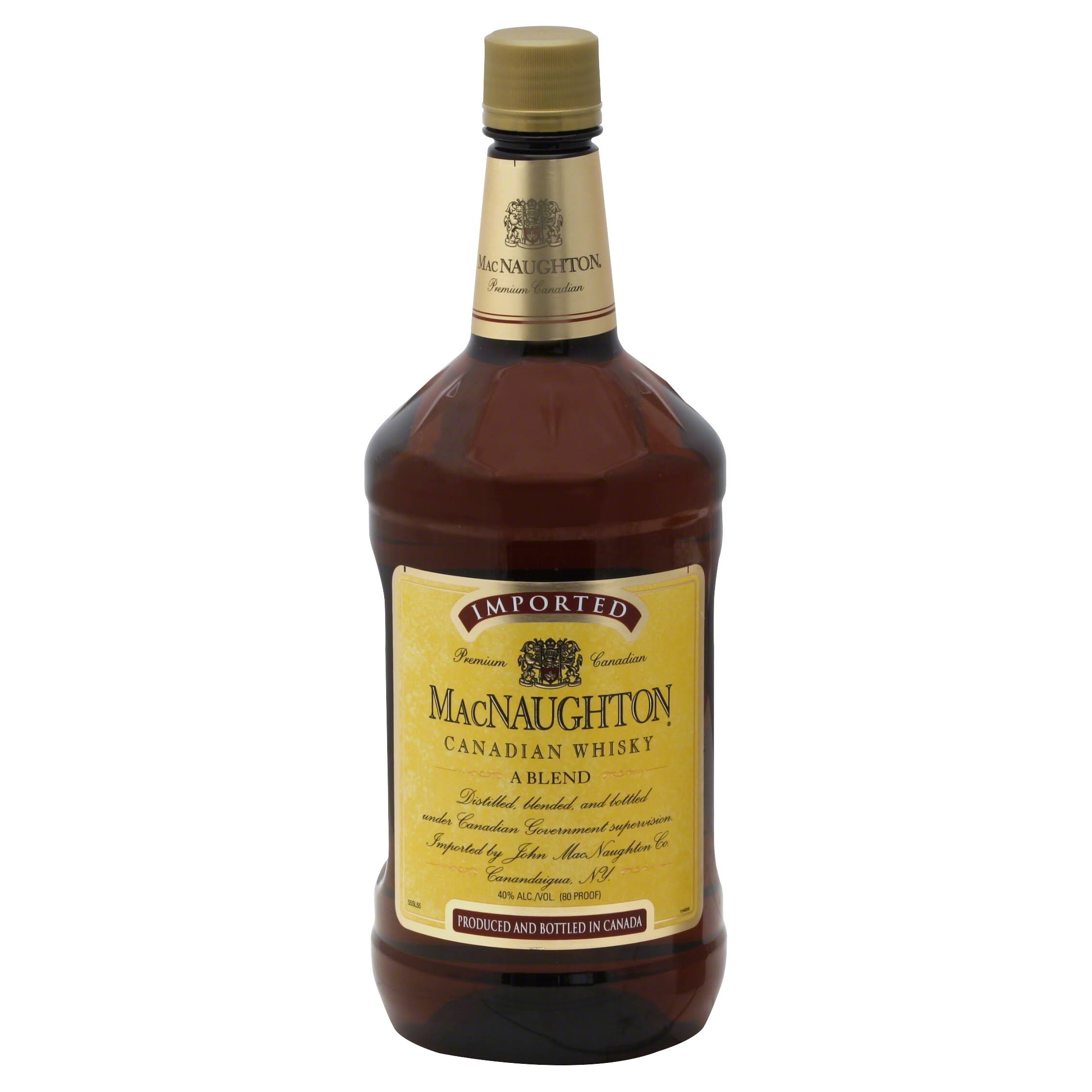 MacNaughton Whisky, Canadian, A Blend - 1.75 lt