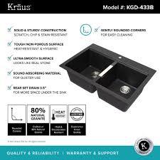 33x22 Undermount Kitchen Sink by Granite Kitchen Sinks Kraususa Com