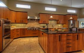 Modern Country Kitchen With Oak Cabinets How Do I Downplay Honey