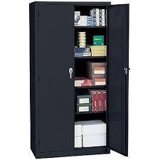 sandusky deluxe steel welded storage cabinet 72 h x 36 w x 18 d