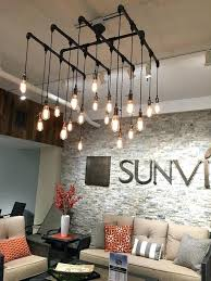 Industrial Dining Room Lighting Chandelier Or Light Square By