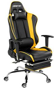 Reclining Gaming Chair With Footrest by Don U0027t Miss Merax Ergonomic Office Chair Big And Tall Executive