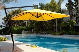 Square Patio Umbrella With Netting by Impressive Square Offset Patio Umbrella 9x9 Square Patio Umbrella