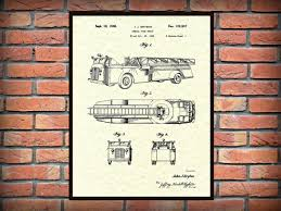 Patent Aerial Fire Truck 1940 Design By J.J. Grybos - Art Print ... Wall Art For Kids 468 Best Transportation Images On Pinterest Babies Busted Button Where Creativity And Add Meeton A Blind Date Elegant Fire Truck 53 With Additional Johnny Cash Beautiful Metal New York City Skyline 57 About Remodel Perfect Homegoods 75 For Your With Characters Lego Undcover Patent Aerial 1940 Design By Jj Grybos Print 1963 Hose Cabinet Poster House Luxury School Of Fish 66