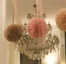 Tulle Pom Pom Decorations by De 18 Bästa So Much Tulle Bilderna På Pinterest