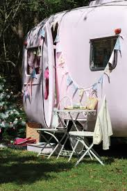 Pink Vintage Caravan From The Style Book