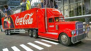 Mega Rc Model Scale Trucks, Tractors, Rc Bus!! Rc Model Coca Cola ...
