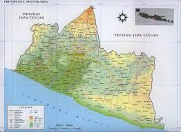 Map Diy Yogyakarta