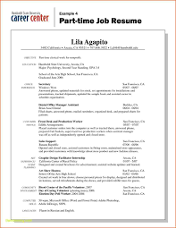 Part Sample Resume For College Students Summer Jobs Time Job Blackdgfitnesscorhblackdgfitnessco Student Sraddmerhsraddme
