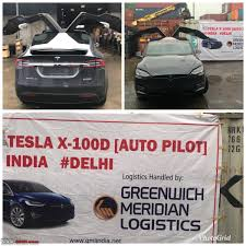 1st Tesla Arrives In India The Model X Page 5 TeamBHP