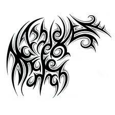 4 Free Printable Airbrush Tattoo Stencils Hidden Name Tattoos