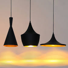 3Pcs Set Classic ABC Pendant Lamps Chandelier Lights With Copper Lampshade Modern Bar Light Dining Room Indoor Lighting In From