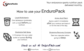 Glutamine Before Bed by Review Enduropacks Mostly I Run