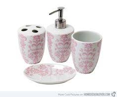 Girly Bathroom Accessories Sets by Fashionable Design Pink Bathroom Set 15 Chic Accessories Home
