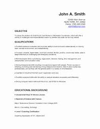 Housekeeping Resume Skills Luxury Examples For Child Care Of Resumes