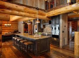 Log Cabin Kitchen Lighting Ideas by Kitchen Wood Shavings C3 A3 C2 82 Design Rustic Log Cabin Lovable