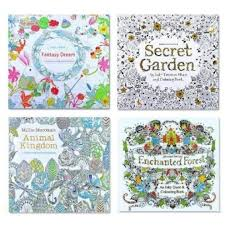 4 Pcs Secret Garden Coloring Graffiti Book For Children AdultRelieve Stress Kill Time Painting Drawing Books