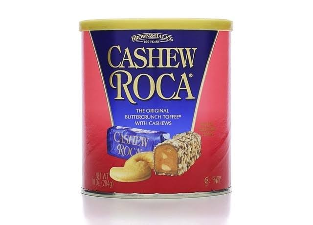 Brown & Haley Cashew Roca - 10 oz canister