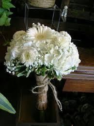 White Hydrangea White Dahlias White Gerbera Daisies White