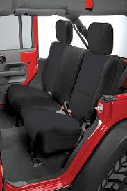 100 Custom Seat Covers For Trucks Rugged Ridge Fit Neoprene Rear For 0718 Jeep