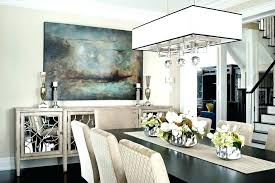 Glass Buffet Table Sideboard Mirrored Awesome Beige Dining Room Transitional