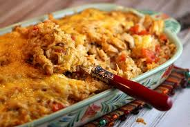 cuisine tex mex tex mex chicken and rice casserole recipegirl