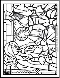 Printable Bible Story Coloring Page Jesus Teaching In The Temple