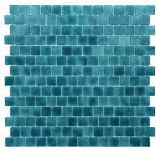 kellani quartz 0 75 x 0 75 glass mosaic tile in turquoise blue