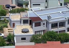 Mansion where Oscar Pistorius blasted model Reeva Steenkamp is